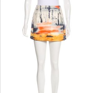 Balenciaga Tie Dye Mini Skirt